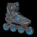 Роликовые коньки  Roces ICON черно-синий 38 - фото №1