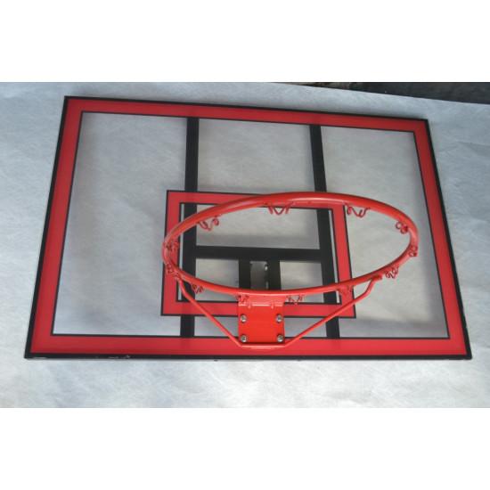 Баскетбольный щит  Vigor 112X75 (BB001) - фото №1
