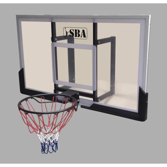 Баскетбольный щит  SBA S030B 140х80 см - фото №1
