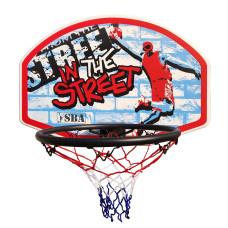 Баскетбольный щит SBA S881RB 66x46 см
