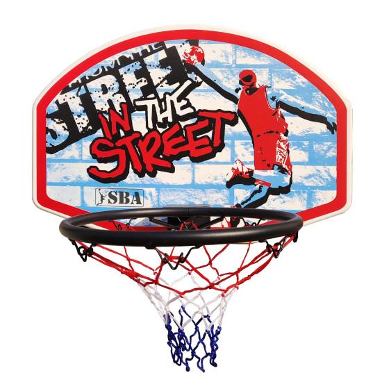 Баскетбольный щит  SBA S881RB 66x46 см - фото №1