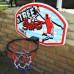 Баскетбольный щит  SBA S881RB 66x46 см - фото №3