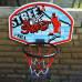 Баскетбольный щит  SBA S881RB 66x46 см - фото №2