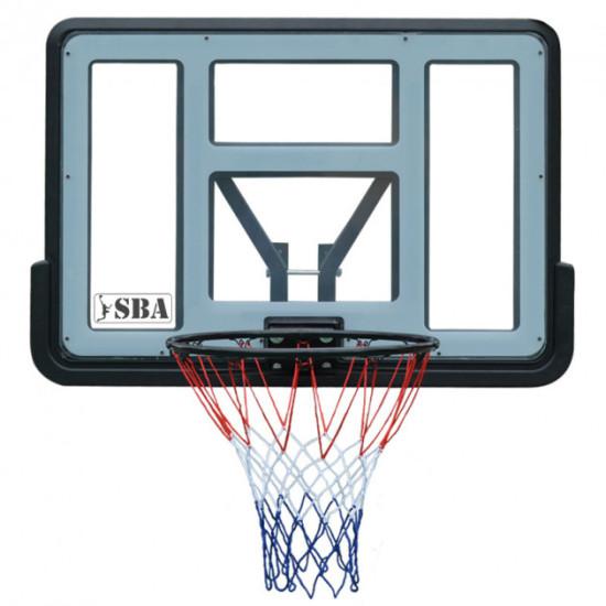 Баскетбольный щит  SBA S007 110x76 см - фото №1