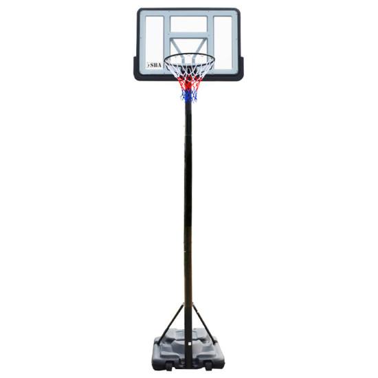 Баскетбольная стойка  SBA S021A 110x75 см - фото №1