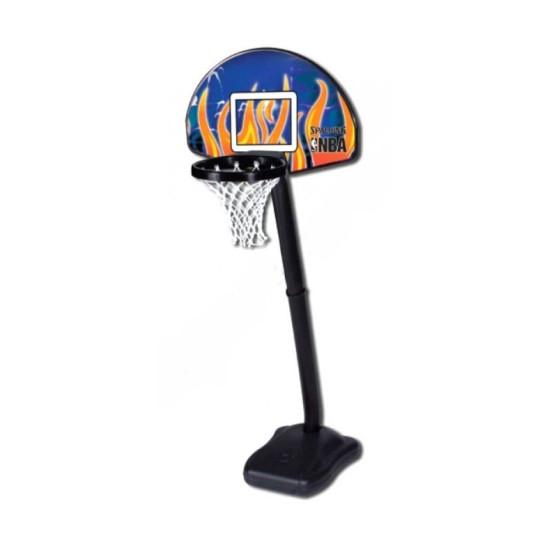Баскетбольная стойка  Spalding NBA Junior Series Fan 24 (5H591SCN) - фото №1