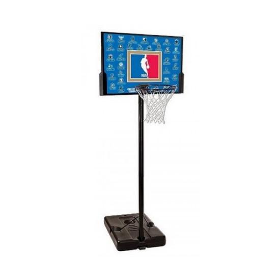 """Баскетбольная стойка  Spalding NBA Teams 44"""" Rectangle Composite (63501CN) - фото №1"""