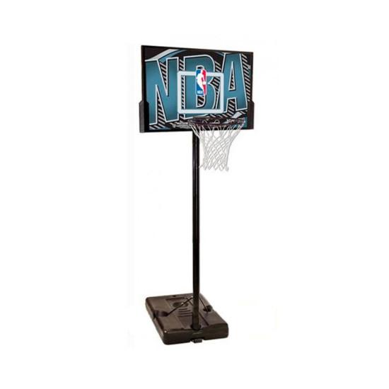 Баскетбольная стойка  Spalding NBA Logoman Rectangle Composite 44 (63502CN) - фото №1
