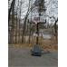 Баскетбольная стойка  Spalding Angled Pole 54 (75746CN)  - фото №3
