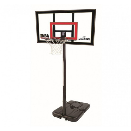 Баскетбольная стойка  Spalding Highlight Acrylic Portable 42 (77799CN)  - фото №1