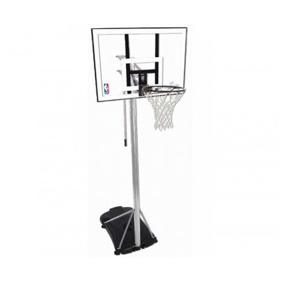 Баскетбольная стойка  Spalding Silver Rectangle Acrylic 44 (59484CN) - фото №1