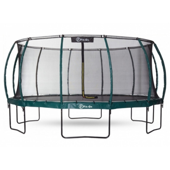 Батут  FIT-ON TRAMP 16FT (488CМ) С ЗАЩИТНОЙ СЕТКОЙ MAXIMAL SAFE - фото №1