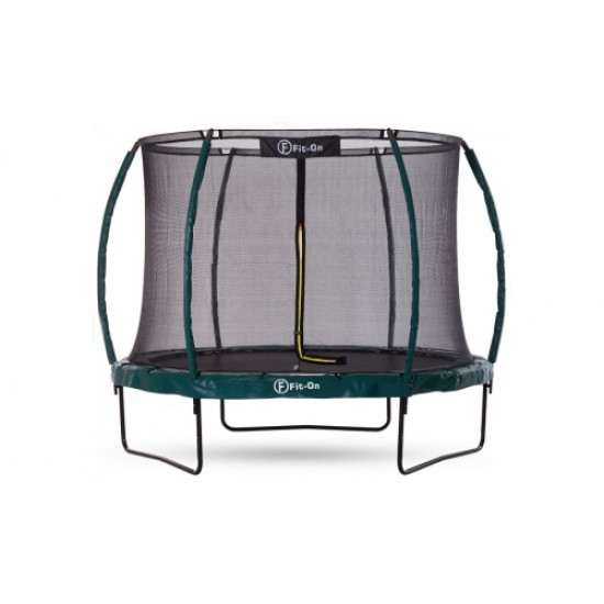 Батут  FIT-ON TRAMP 10FT (312CМ) С ЗАЩИТНОЙ СЕТКОЙ MAXIMAL SAFE - фото №1
