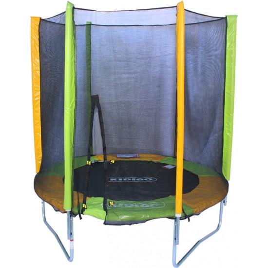 Батут  KIDIGO 183 см с внешней сеткой - фото №1