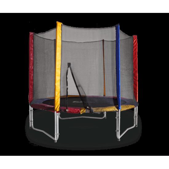 Батут  KIDIGO 244 см с внешней сеткой - фото №1