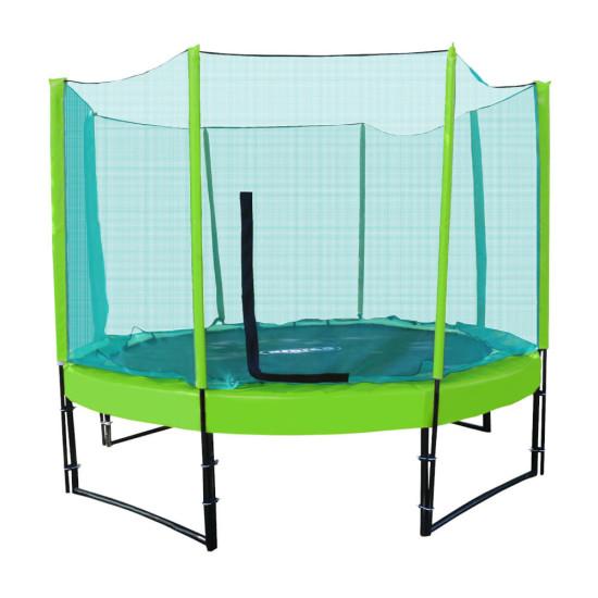 Батут  KIDIGO Premium 244 см (green-green) - фото №1