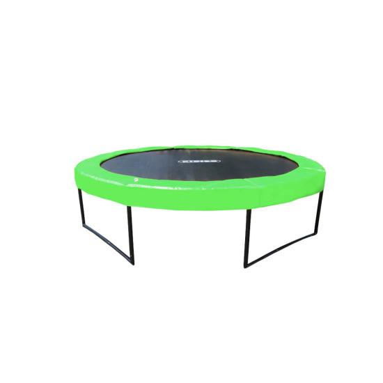 Батут  KIDIGO Premium 426 см Green - фото №1