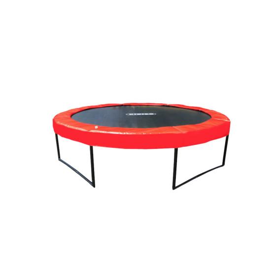 Батут  KIDIGO Premium 426 см Red - фото №1