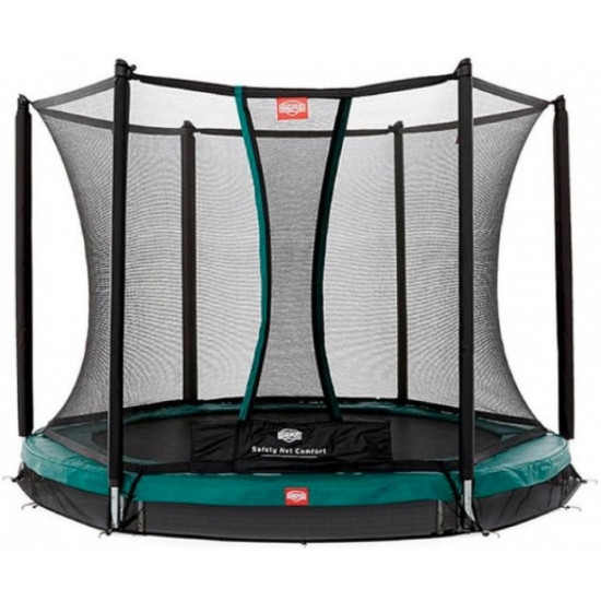 Батут  BERG InGround Talent Green 300 + Safety Net Comfort - фото №1