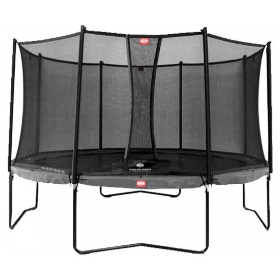 Батут  Berg Champion Grey 430 Safety Net Comfort - фото №1