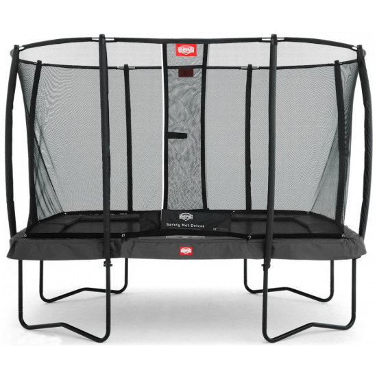 Батут  BERG Ultim Champion Regular 330 Grey + защитная сетка Safety Net Deluxe - фото №1