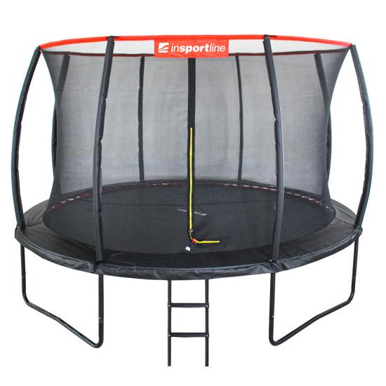 Батут  inSPORTline Flea 366 см с внутренней сеткой - фото №1