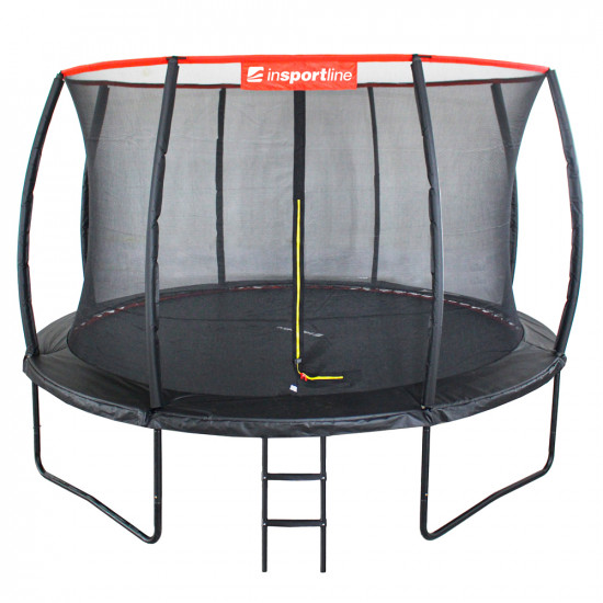 Батут  inSPORTline Flea 430 см с внутренней сеткой - фото №1