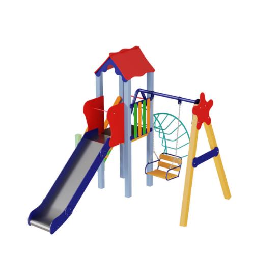 Детский игровой комплекс  Kidigo  Бабочка 1,2 - фото №1