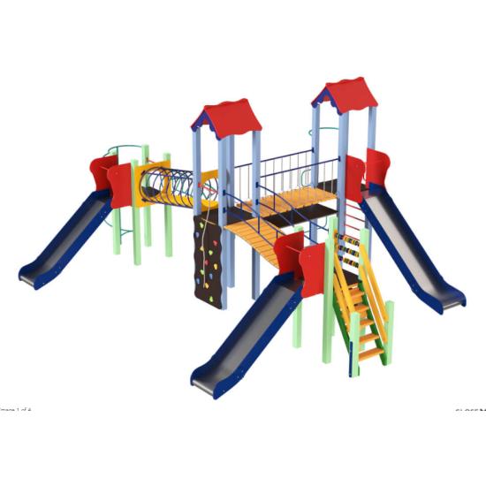 Детский игровой комплекс  Kidigo  Крабик - фото №1