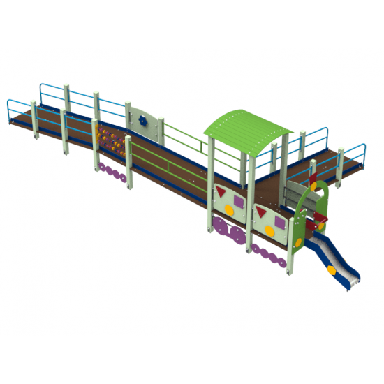 Детский игровой комплекс  Kidigo Поезд Dream для детей с ОФМ - фото №1