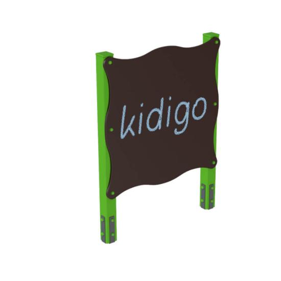 Детский игровой комплекс  Kidigo  Доска для рисования одинарная - фото №1