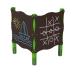 Детский игровой комплекс  Kidigo  Доска для рисования двойная - фото №1