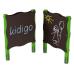 Детский игровой комплекс  Kidigo  Доска для рисования двусторонняя - фото №1
