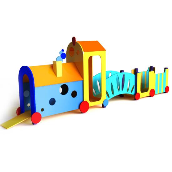 Детский игровой комплекс  Kidigo Паровоз - фото №1