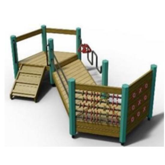Детский игровой комплекс  Kidigo Bridge Play - фото №1