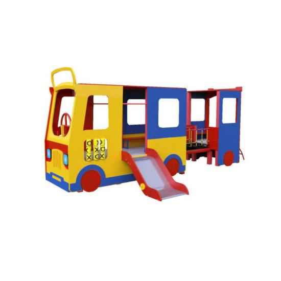 Детский игровой комплекс  Kidigo  Троллейбус - фото №1