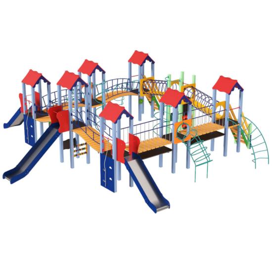Детский игровой комплекс  Kidigo  Мой город - фото №1