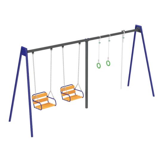 Детский игровой комплекс  Kidigo Віола база металл - фото №1