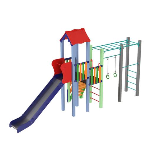 Детский игровой комплекс  Kidigo  Котик 1,2 - фото №1