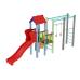 Детский игровой комплекс  Kidigo  Котик с пластиковой горкой - фото №1