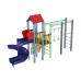 Детский игровой комплекс  Kidigo  Котик с пластиковой горкой Спираль - фото №1
