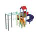 Детский игровой комплекс  Kidigo  Котик с пластиковой горкой Спираль - фото №2