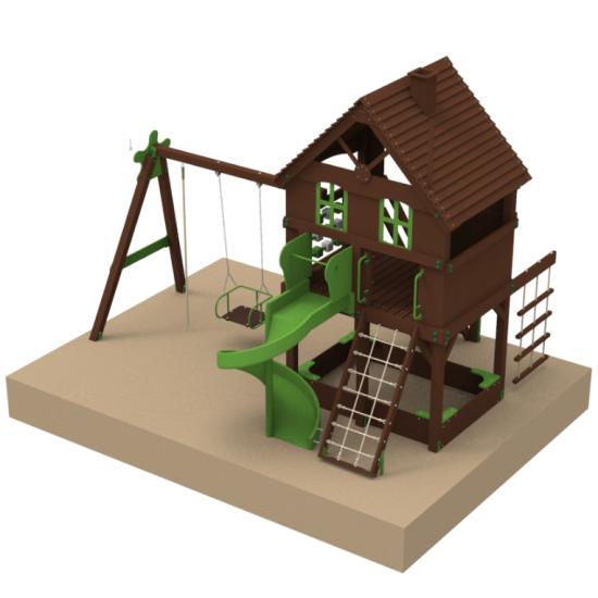 Детский игровой комплекс  Kidigo Мир Развлечений - фото №1