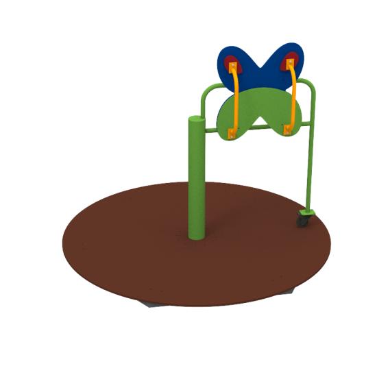 Детский игровой комплекс  Kidigo Карусель Butterfly для детей з ОФВ - фото №1