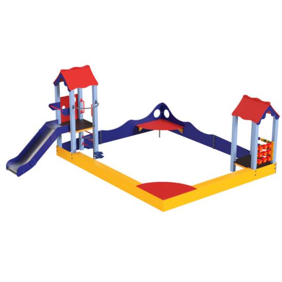 Детский игровой комплекс  Kidigo Клуб веселья LUX - фото №1