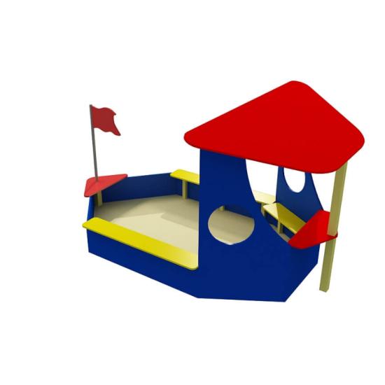 Детский игровой комплекс  Kidigo Кораблик - фото №1