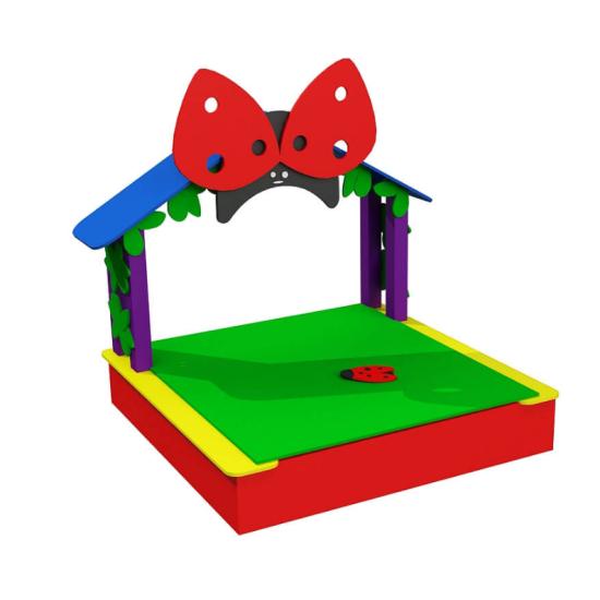 Детский игровой комплекс  Kidigo Божья коровка закрытая - фото №1
