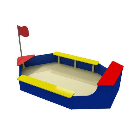Детский игровой комплекс  Kidigo Лодочка 1 м - фото №1
