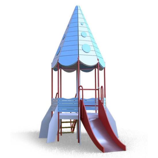 Детский игровой комплекс  Kidigo  Ракета 1,2 - фото №1