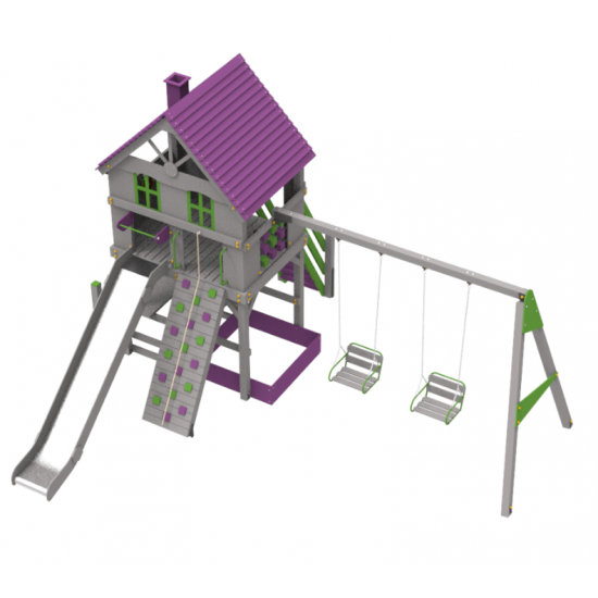 Детский игровой комплекс  Kidigo Rancho - фото №1